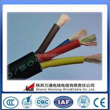 PVC insulated mining rubbe cable soft rubber cable