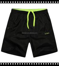 2015 100% polyester Micro mesh Mens sports shorts in china