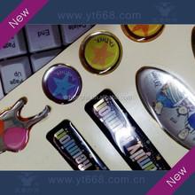 Anti-counterfeiting custom design epoxy sticker