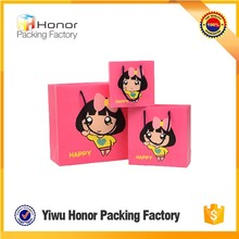 Reusable cute gift bags customize logo wholesale shopping paper bag packing