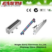 cree/bridgelux/Epistar led chip 36*1w rgb DMX512 linear led wall washer for building/garden UL/BV listed for ourdoor