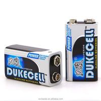 durable hotsale 9v 6lr61 alkaline battery alkaline dry battery
