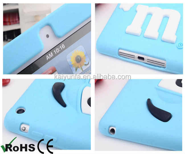 m&m's chocolate bean case cover for IPAD mini and for IPAD 2/3/4