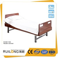 Electric hospital bed home care wooden nursing bed