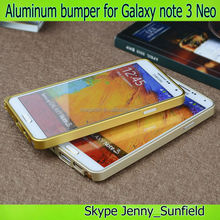 for samsung galaxy note 3 case neo easy snap aluminum bumper , for samsung note 3 case neo ,