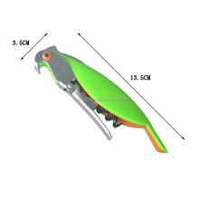 2016 new design Parrot wine opener manual corkscrew