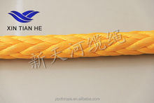 Ultra High Molecular Weight Polyethylene ( UHMWPE) Fiber Mooring Rope 12-strand