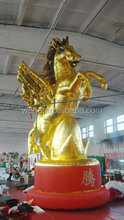 2015 customized giant inflatable horse for exhibition