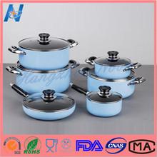 Environmental porcelain enamel cookware
