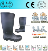 Insulative Cheap Custom PVC Rain Safety Gumboots