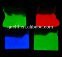 aluminato de estroncio fotoluminiscencia resplandor en el pigmento en polvo oscuro