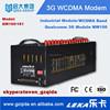 QW160 hot selling!! 3G WCDMA modem industrial modem Qualcomm MW100 industrial gsm module multi ports 16 ports
