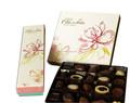 Chinês 5 anos de ouro fornecedor de caixas de chocolate, logotipo personalizado caixas de chocolate com fitas
