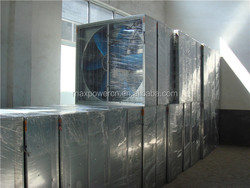 hot sale! high quality pad and fan greenhouse cooling systems low price