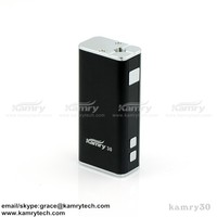 new e cig mod for 2015 best 30w mod kamry 30 with 18650 battery buily-in Kamry30 mini box mod