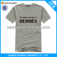 Fancy Cotton Bulk Tshirt Plain For Custom Printing Round Neck For Mens