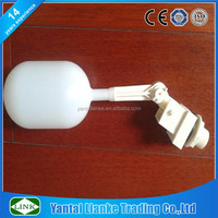 1 inch plastic PVC remote water tank auto shut off water float valve