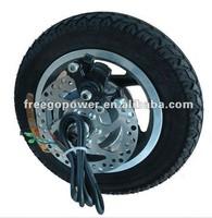 36v 250w brushless geared electric wheel hub motor car