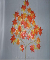 Artificial USA maple leaves