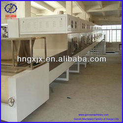 high effciency and energy saving tunnel microwave dehydrator with CE