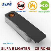 Silfa metal flash drive rechargeable USB lighter of dolphin lighter