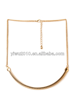 Sleek Curve Necklace
