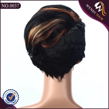 New fashion short human hair wig for black women