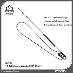 4000psi Gas and Electric Pressure Washer Extension Telescoping Wand with Gutter Cleaner