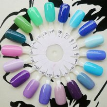 2012 Nail art soak off UV color gel