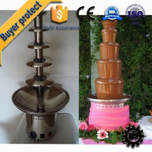 ISO / CE Quality Certification 36 birthday party mini chocolate fondue fountain gold supplier