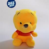 Fat yellow Bear plush toys stuffed plush toys with Sucker cartoon plush Car accessories factory wholesale dropshopping