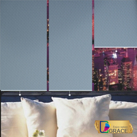 European style quality roller blinds/ whole sale roller blinds/roller blinds for living room