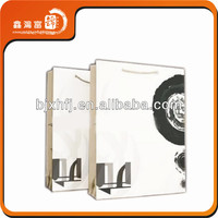 Colorful new design wholesale Shopping Paper Bag With Recycled Paper