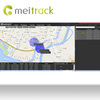 Meitrack barcode tracking software gps tracking platform for gps tracker with Professional technical support MS03