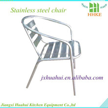 Best price for rolling stainless steel stool steel modern chair for sale