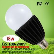 Thermal Plastic LED E27 Hight lumen china 18W led bulb light 1620lm led lamp bulb SMD CE FCC