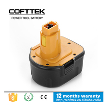 Dewalt 12v cordless drill battery for Dewalt 12v power tool battery DC9071, DE9071, DE9072, DE9074, DE9075, DW9071, DW9072