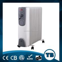 Duvara monte radyatör ısıtıcı, yağ radyatör ısıtıcı