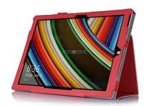 """Best Selling 12"""" Leather Protective Case For Microsoft Surface Pro 3 Tablet With Handle"""