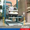 PJS Parking Lift Type Mechanized parking/Elevador para Auto/Two Post Stacker Parking Lift