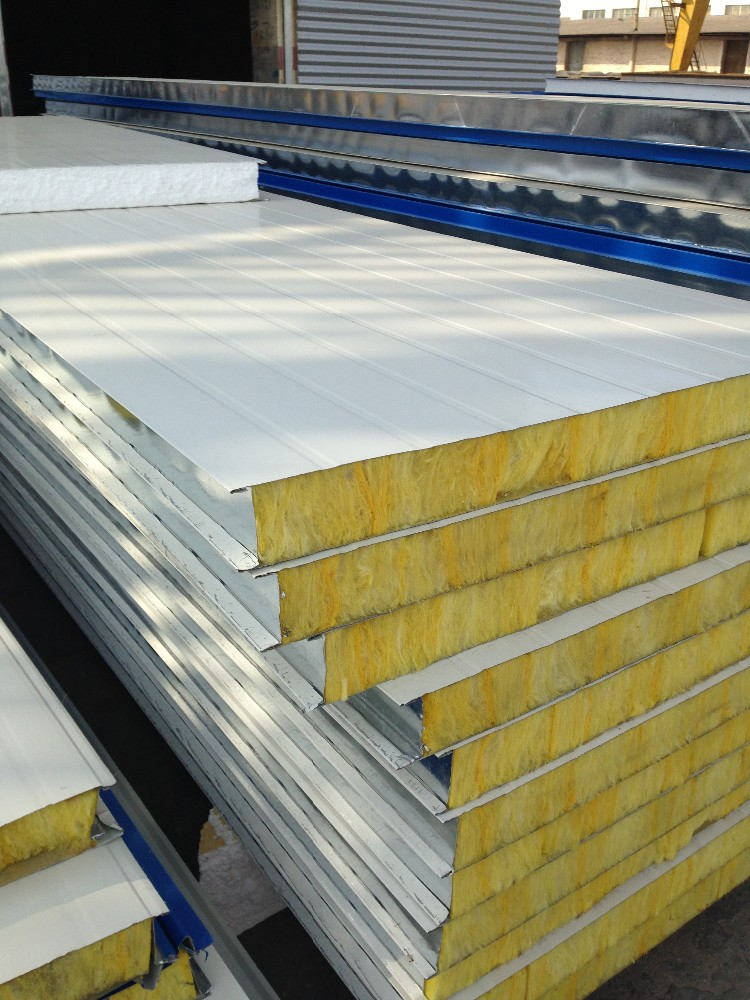 Sandwich Panel Construction : Insulated sandwich panels for fast wall construction