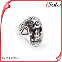 Wholesale skull rings for men stainless steel skull rings