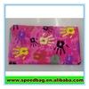 Pink hand print gift pencil bag pen pencil pouch,gift pencil bag