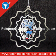 custom design china christmas star shape hanging ornament wholesale