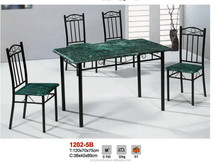 dining table sets/particlebosrd table tops/wood dining table