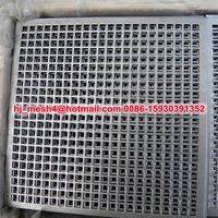 square hole perforated metal sheet (factory)