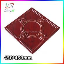 Agent chinois 450 mm X 450 mm populaire décoratif plafond conception, Faux plafond, Plafond en aluminium