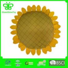 different size Stuffed Plush sunflower shape cushion
