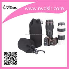 Factory Price Black Four Size Camera Lens Pouch Bag