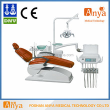 rotating cabinet side box dental chair unit with memory control system tool tray